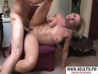 Lovely Milf Kelly Leigh Gives Blowjob Hot Her Friend