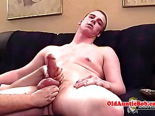 Old Gay Troll Spoiling Younger Dudes Dick