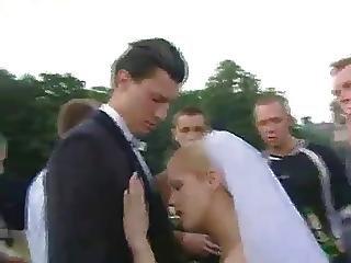Babe, Rubia, Novia, En Grupos, Duro, Publico, Sexo