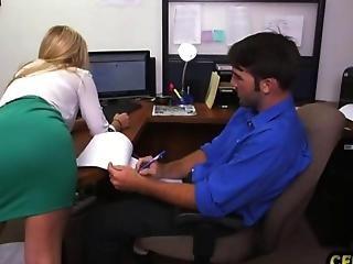 Blonde, Secretary, Sexy