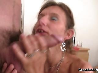 Mature Double Penetration With A Stranger