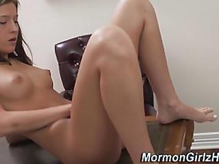 Mormon Teen Masturbates