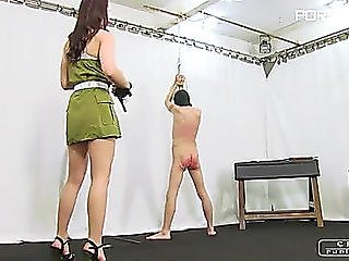 Cruelpunishments Lady Anette Extraordinary Painful Military Torture 03