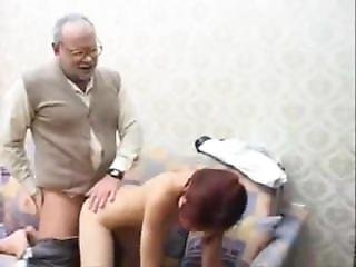Grandfather Fucking With A Teenager