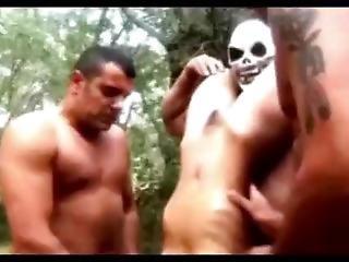 Kissing Masked Dicks