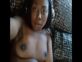 amatør, sort, udlænding, finger, hjemme, hjemmelavet, mor, naturlig, naturlige bryster, orgasme, fisse, barberet, våd