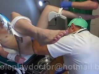 Novice Doctor Petite Patient