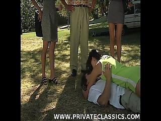 Kate More Monic And Ursula Moore Have An Outdoor Bisexual Orgy With Dp