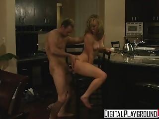 Digital Playground - Home Wrecker Kayden Kross Gets Fucked On The Kitchen T