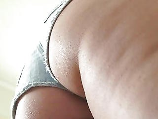 Girls Out West - Pierced Pussy Squirts Intensively While Toyed