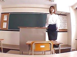 Aya Sakurai Creams Her Cunt And Rubs Cock