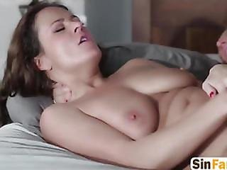 Babe Milf Gets Her Hairy Pussy Licked And Fucked