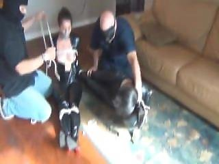 Catsuit Bulgars Get Tied And Gagged