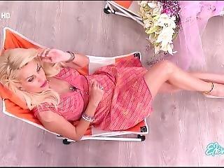 Eleni Menegaki Hot Legs