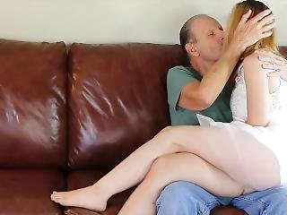 Pervert Old Guy And Beauty Young Teen