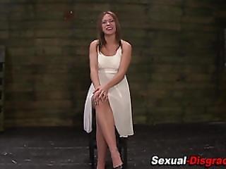 Fetish Slave Gets Anal