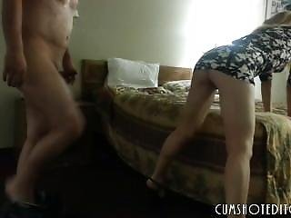 Hot Babe Made To Suck And Fuck In A Hotel Room