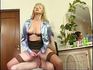 Mature Aunt And Horny Nephew