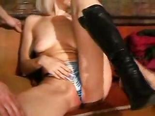 Homeless Stinking Hobo Gets Hot Blow Job From Teenie  Girls 28 Sexy Blond