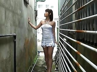 Momo Hasegawa Sexy Dress