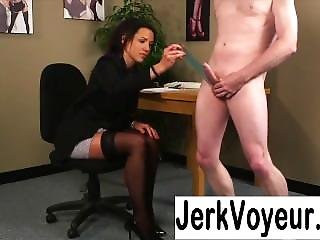 Girl Watched Jerking