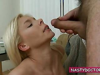 Unshaven Doctor Plays With Trina