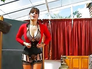 μεγάλο βυζί, βυζί, αγγλικό, Busty, βρώμικο, ώριμη, σέξυ, κάλτσα, δασκάλα
