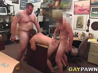 Gay Pawn Threesome