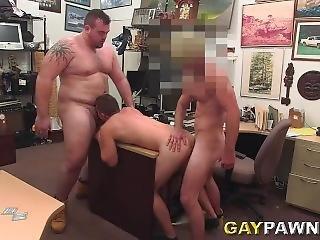 Gay Pawn Threesome