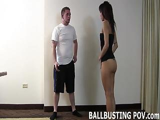 I Will Bust Your Balls Until You Beg Me To Stop
