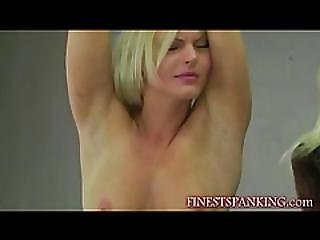 Hot Spanking As A Foreplay