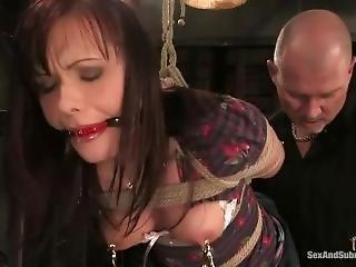 anal, bondage, brusque, sexe