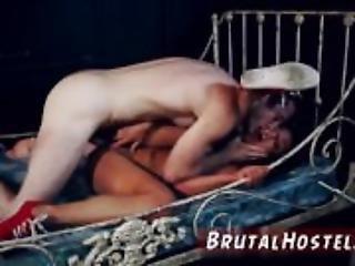 Hardcore double anal punishment hot teacher