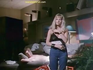 Barbara Crampton Topless In Chopping Mall Movie Scandalplanet.com