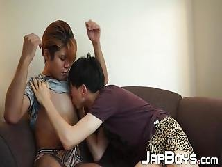 Handsome Young Japanese Twinks Like These Are Always Up To No Good With Their Young Cocks And Asses Which Crave For Pleasure Above All!