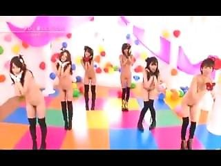 Japanese Idols Nude Music Video