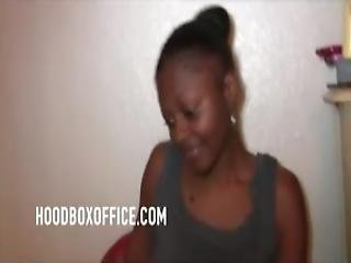 Young Ghetto Hoes Want To Impress Dope Man With Twerk
