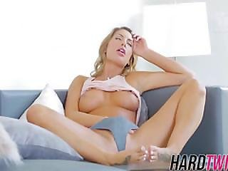 Caught My Wife Touching Herself And Offer My Rock Hard Cock