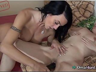 Mrs. Troy Loves The Touch Of Teen Lesbian