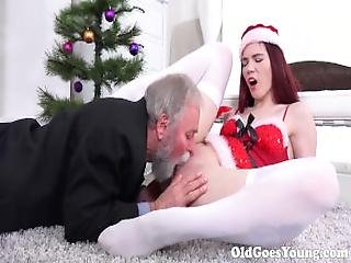 Old Goes Young   Old Man From Next Door Knows How To Eat Pussy Like A Pro