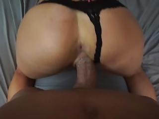 Hot Gf Krystal Gets Fucked By Big Dick In Her Black Panties