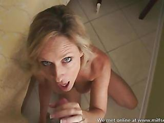 Mom From Milfsexdating Net Gives A Treat To You