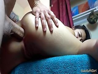 Friends Younger Sister Let Me Anal Creampie Her