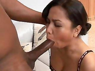 Asian, Big Cock, Blowjob, Brunette, Couple, Cum, Indonesian, Interracial, Oral, Sex, Shaved