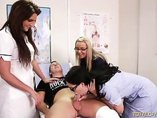 Naughty Nurses And Their Patient