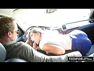 Teenfidelity Tight Teens Abby Cross And Presley Dawson Share Cum