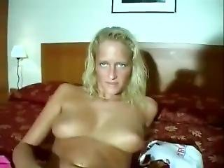 Incredible Homemade Clip With Blonde, Masturbation Scenes