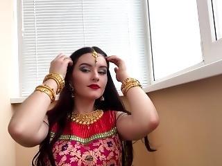 Indian Desi Bhabhi Alyssa Quinn Gets Fuck & Swallows Thick Cum(hindi Audio)