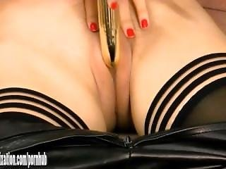 Babe, Catsuit, Fucking, Gorgeous, Horny, Leather, Masturbation, Old, Pussy, Teasing, Tight, Tight Pussy, Toys