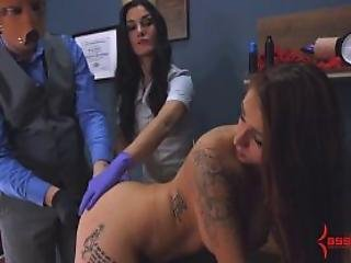 Hard Anal Training And Painful Ass To Mouth For Anal Virgin